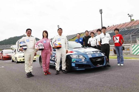 Tokyo Next Speed 無限 CR-Zと橋本洋平、まるも亜希子、石井昌道