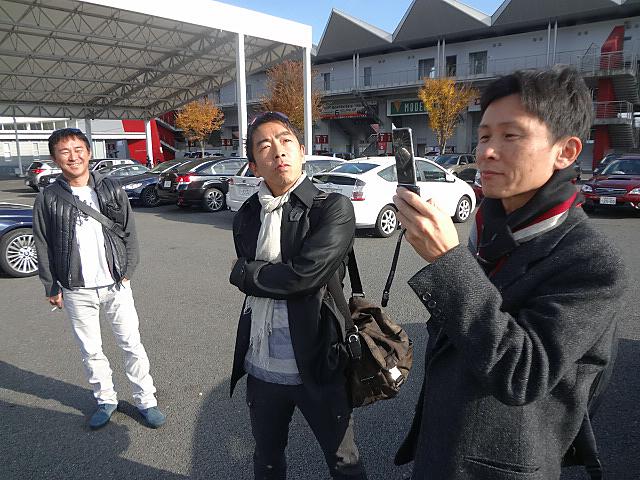 桂伸一さん、石井昌道さん、木下隆之さん