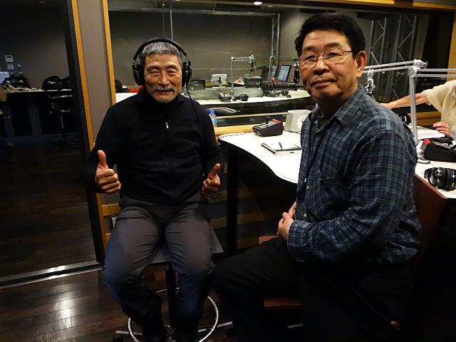 津々見友彦さん、松本晴比古さん