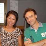 佐藤久実さんとピーター・ライオンさん