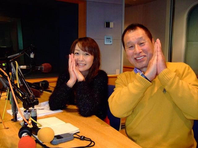 DJ藤本とゲストの菰田潔さん