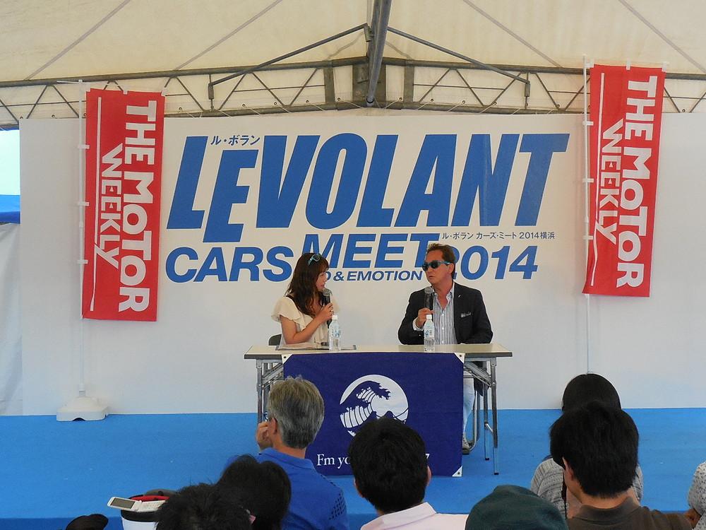 5月24日 第60回「スペシャルトークショー 新世代のアメリカ車キャデラックに注目@ル・ボランカーズミート2014」