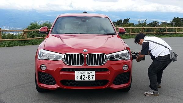 えみりのドライブレポート BMW X4 002
