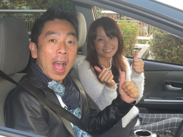 「ドライブデートはナビにお任せ。パナソニック・ストラーダ 美優ナビで行くキュンドライブ」12月5日 第139回