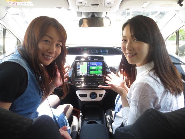 「パナソニック SDカーナビステーション ストラーダ CN-F1D」を使ってドライブ! <br>(ゲスト:まるも亜希子さん) 6月18日 第167回