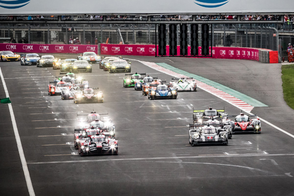 Start at WEC 6 Hours of Mexico - Autodrome Hermanos Rodriguez - Mexico City - Mexique