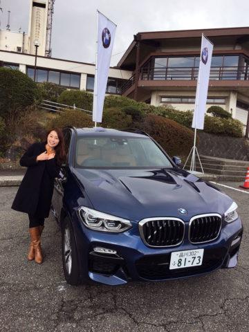 新型BMW「X3」を試乗して、テンションアップ!+「リモートコントロールパーキング」初体験しました!<藤本えみり/Emiri Fujimoto>